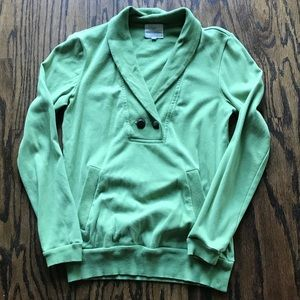 Banana Republic green pullover sweater